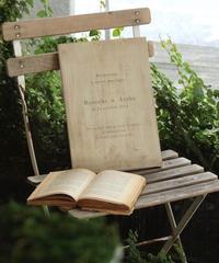 木のウェルカムボード