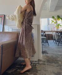 drape  long  dress