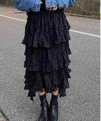 corduroy frill skirt