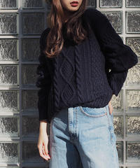 basic cable knit
