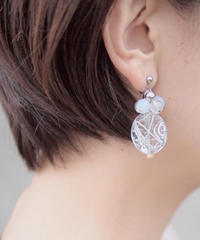 Hand made earrings-j016