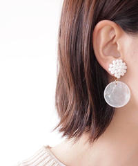 Hand made earring-j114