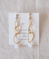 Hand made earrings-j018