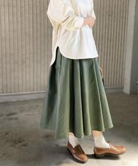 ヘビーコットン フレアースカート
