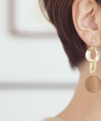 Hand made earrings-j004