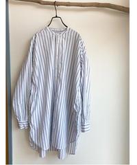 ストライプ ロングシャツ