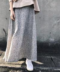 シフォン フレアースカート