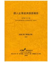 個人企業経済調査報告書 令和2年 [978-4-8223-4127-5]-01