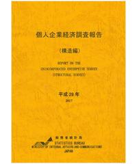 個人企業経済調査報告書(構造編)平成29年 [978-4-8223-4025-4]-01