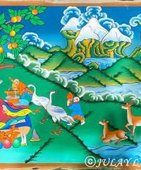 仏画(タンカ)