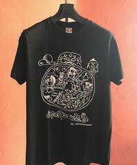 ジュレー・ラダック オリジナル六道輪廻Tシャツ(黒)