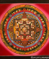 ①チベット仏教のマンダラ