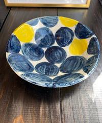 ドットデザイン大鉢皿