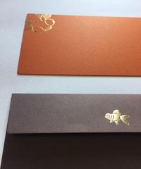 封筒セット 長方形 金魚