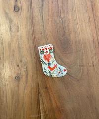 長靴のブローチ