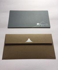 メッセージカード 富士山