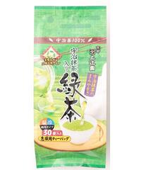 宇治抹茶入緑茶ティーバッグ 3g×30P