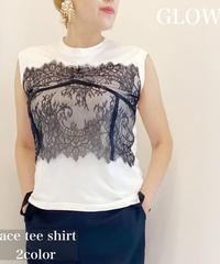 レースTシャツ(2色)【3500円⇒2980円】