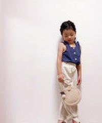 裾リボンパンツ