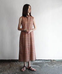 Shirts dress 橙花火