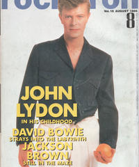 rockin'on ロッキング・オン 1986年8月号