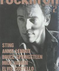 rockin'on ロッキング・オン 1988年2月号