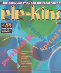 ele-king エレキング 1996年9/10月号 Volume09