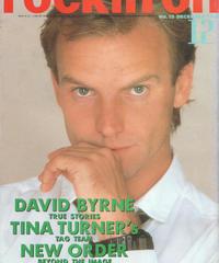 rockin'on ロッキング・オン 1986年12月号