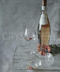 ロゼワインとグラス①