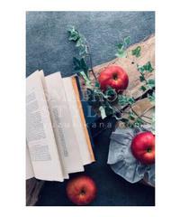 りんごと洋書②