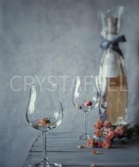 ロゼワインとグラス③