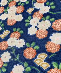 牡丹に枝梅模様(地紋入り)【M】【ケニシャツ】