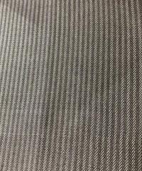 縞織り出し泥大島紬着物(地紋なし)【M】【ケニシャツ】