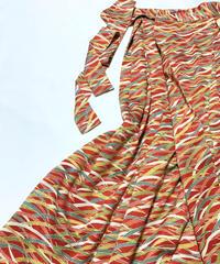 草芝模様【タックラップスカート】