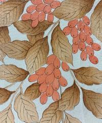 枝の実模様【ギャザーラップスカート】