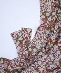 草花・松模様【ギャザーラップスカート】