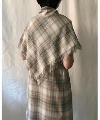 W/E check sleeveless dress