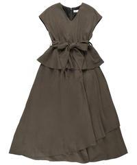 Pepram maxi dress CHARCOAL