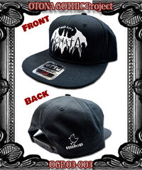 OGP.03-003 MAD city KAMATA CAP<ブラック>