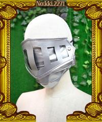 kki.2271 鎧マスク。 <シルバー>