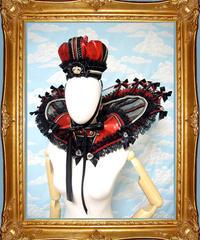 kki.1874 ハートの女王エリザベスカラー王冠Set