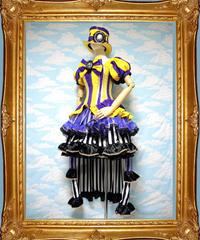 kki.1871 毒林檎でトリップした白雪姫のコルセットドレス。 HAT、スカートSET