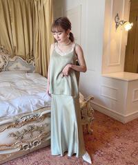 glossy skirt -FA401-