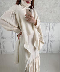 muffler knit -FA313-