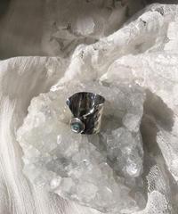 silver925  変形ring -107-