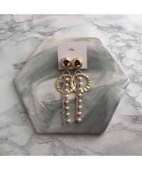 handmade  earring  -605-