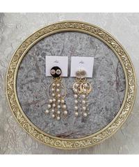 handmade earring  -645-