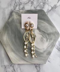 handmade  earring  -632-
