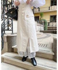 Acka original lace layered skirt