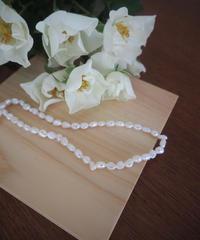 淡水pearl  simple necklace